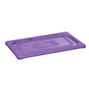 Purple cover for containers GN 1/9- code 881750