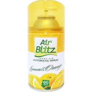 Wkład do odświeżacza Air Blitz Lemon&Orange 260 ml Żółty