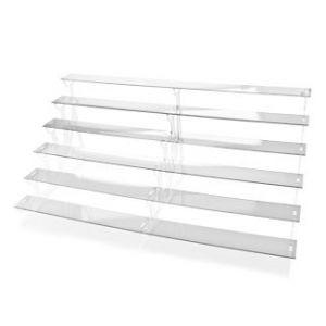 FINGERFOOD - Display STAND transparentny PMMA 72x37x31cm