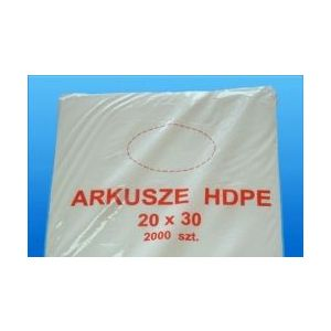 Arkusze HDPE 20x30cm op.2000szt.