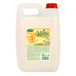 Mydło w płynie 5l ATTiS mleko i miód