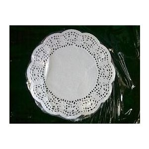 Serwety białe tłuszczoodporne 17 cm, cena za op. 250szt.