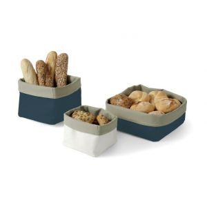 Bag for bread - square 150x150(H)150 dark blue - code 429112