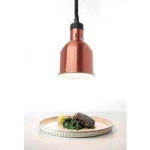 Lampa do podgrzewania potraw - wisząca kolor miedziany kod 273890