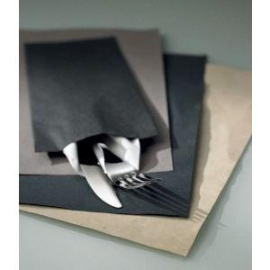 Podkładki papierowe 30x40cm VENICE czarne op. 500 sztuk