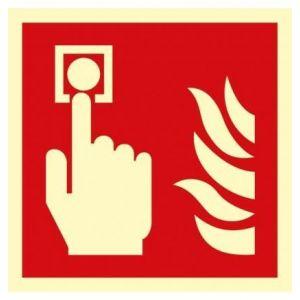 Alarm pożarowy D1 - 200 x 200mm BF005D1PS