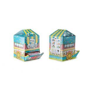 Łopatka do lodów kolor BOX dyspenser, mix kolorów, foliowane pojedynczo op. 500 sztuk