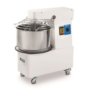 Spiral mixer with fixed bowl - 22 l - code 226209