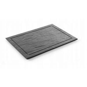 Modern slate plate - tray 500x250 mm - code 423844