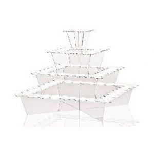 FINGERFOOD - Display PIRAMIDE transparentny PMMA 40x40x33cm