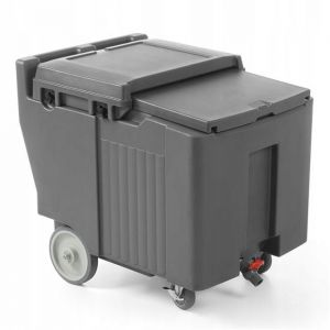 Thermo-insulated transport container l