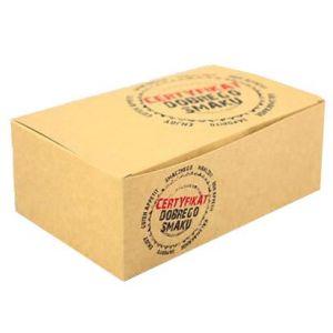 Pudełko KURCZAK mały CERTYFIKAT 160x100x60, cena za opakowanie 100szt