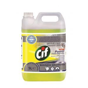 Cif Power Cleaner Degreaser 5l-skoncentrowany preparat do usuwania zabrudzeń tłuszczowych i innych