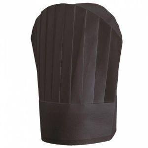 Czapki kucharskie czarne z włókniny wysokość 30 cm, op.10 sztuk