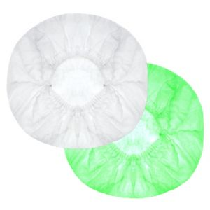 Czepek kuchenny BIAŁY op. 100szt. z włókniny polipropylenowej (k/15)  (CLIP)