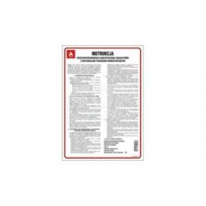Ogólna instrukcja przeciwpożarowa dla szkół DN - 350 x 245mm DB023DNHN