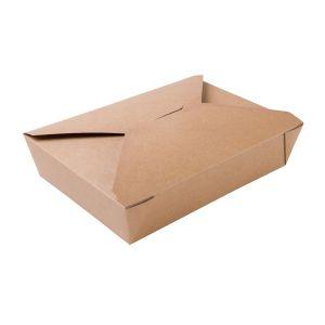 BIO FOOD BOX 1100ml brązowy, cena za op.280szt.