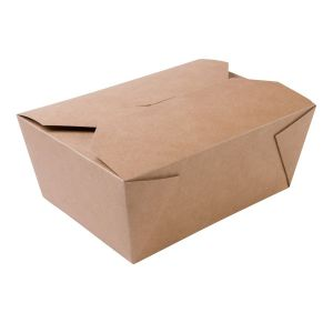 BIO FOOD BOX 2500ml brązowy, cena za op.125szt.