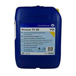 Divosan TC 86 20L preparat myjąco-dezynfekujący z aktywnym chlorem, do wody twardej
