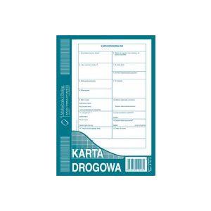 815-3 Karta drogowa A5 80k Michalczyk i Prokop