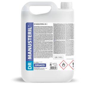 DR MANUSTERIL 5L (k/4) płyn do dezynfekcji rąk i powierzchni HS-1