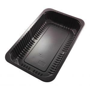 DUNI pojemnik Baseline 1/4 GN op.384szt 260x158x43,7mm , czarny, niedzielony