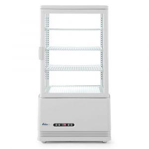 Witryna chłodnicza nastawna biała wysokość 966 mm - kod 233641