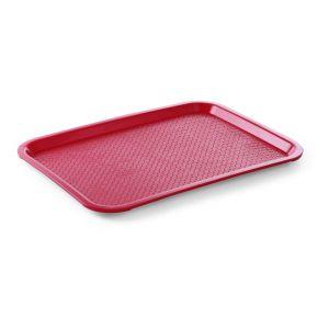 Taca Z Polipropylenu - Fast Food 305X415 Mm Czerwona