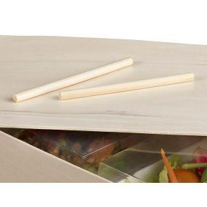 Lunch Box kołeczki zamykające h130mm x fi.8mm, op.100szt. (k/1)