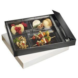 Lunch Box - Surface Tray z zamknięciem 357x265x42mm, op.20 kpl. (k/20)