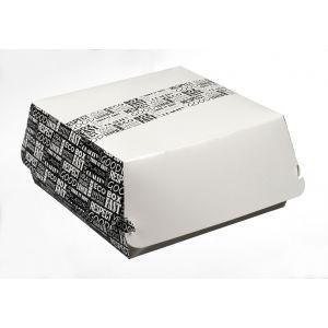 District Range pudełko hamburger, XL 170x170x80mm, op.50szt.. biodegradowalne (k/4)