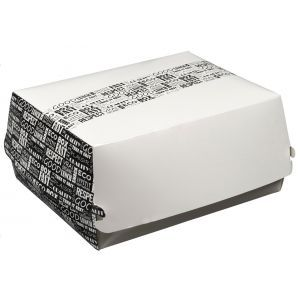 District Range pudełko lunch box 225x180x90mm, op.50szt.. biodegradowalne (k/4)