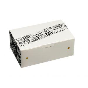 District Range pudełko 6 nuggets 114x73x45mm, op.50szt., biodegradowalne (k/10)