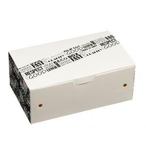 District Range pudełko na 9 nuggets 135x85x51, op.50szt.. biodegradowalne (k/10)