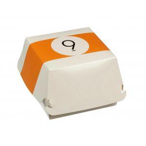 BILLARD pudełko hamburger 115x115x70mm op.50szt., biodegradowalne (k/4)