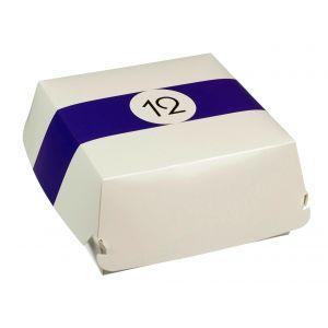 BILLARD pudełko hamburger 170x170x80mm op.50szt., biodegradowalne (k/4)