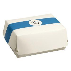 BILLARD pudełko lunch box 225x180x90mm op.50szt., biodegradowalne (k/4)