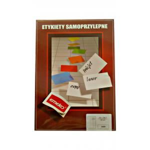 Etykieta samoprzylepna EMEKO 70x29,7 op. 100 sztuk