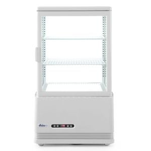Witryna chłodnicza nastawna biała wysokość 816 mm - kod 233610
