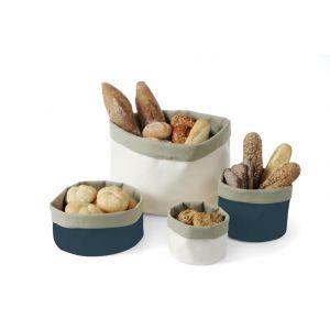 Bread sack - round size 400 (H)400 dark blue - code 429075