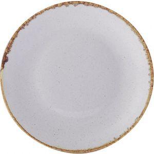 Fine Dine Ashen shallow dish diameter 240 mm - code 04ALM001654
