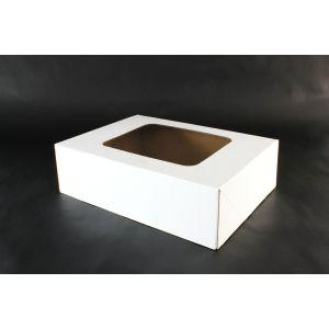 FINGERFOOD - pudełko transportowe z okienkiem 310x410x120mm op. 10 sztuk