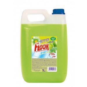Uniwersalny płyn podłogi, ściany, glazura FLOOR 5l ACTiVE SODA Lime & Mint