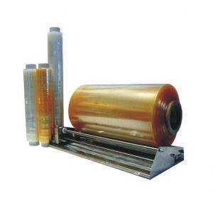 Food foil PVC 50 cm length 1100 m, 9 microns TnP yellow