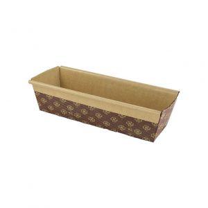 """Baking tray 400g """" fruit cake tray"""" 225x70x65 PLUMCAKE, 516 pieces"""