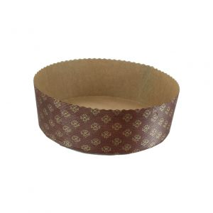 """Round baking form 220x70mm, 360 pieces """"PANETTONE BASSO"""""""