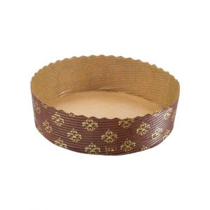 Round baking form 120x35mm, 300 pieces