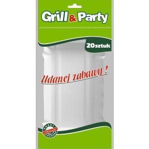 GRILL & PARTY -  tacki papierowe op. 20 sztuk