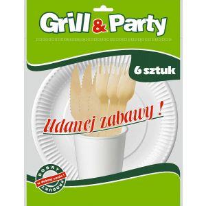 GRILL & PARTY ECO zestaw grillowy op.24szt (k/20)