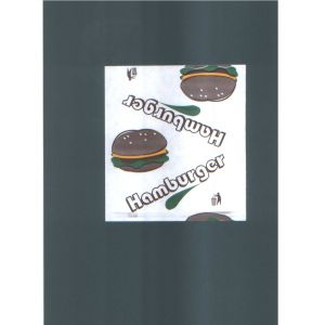 Pouch HAMBURGER small , price per pack of 200 pieces
